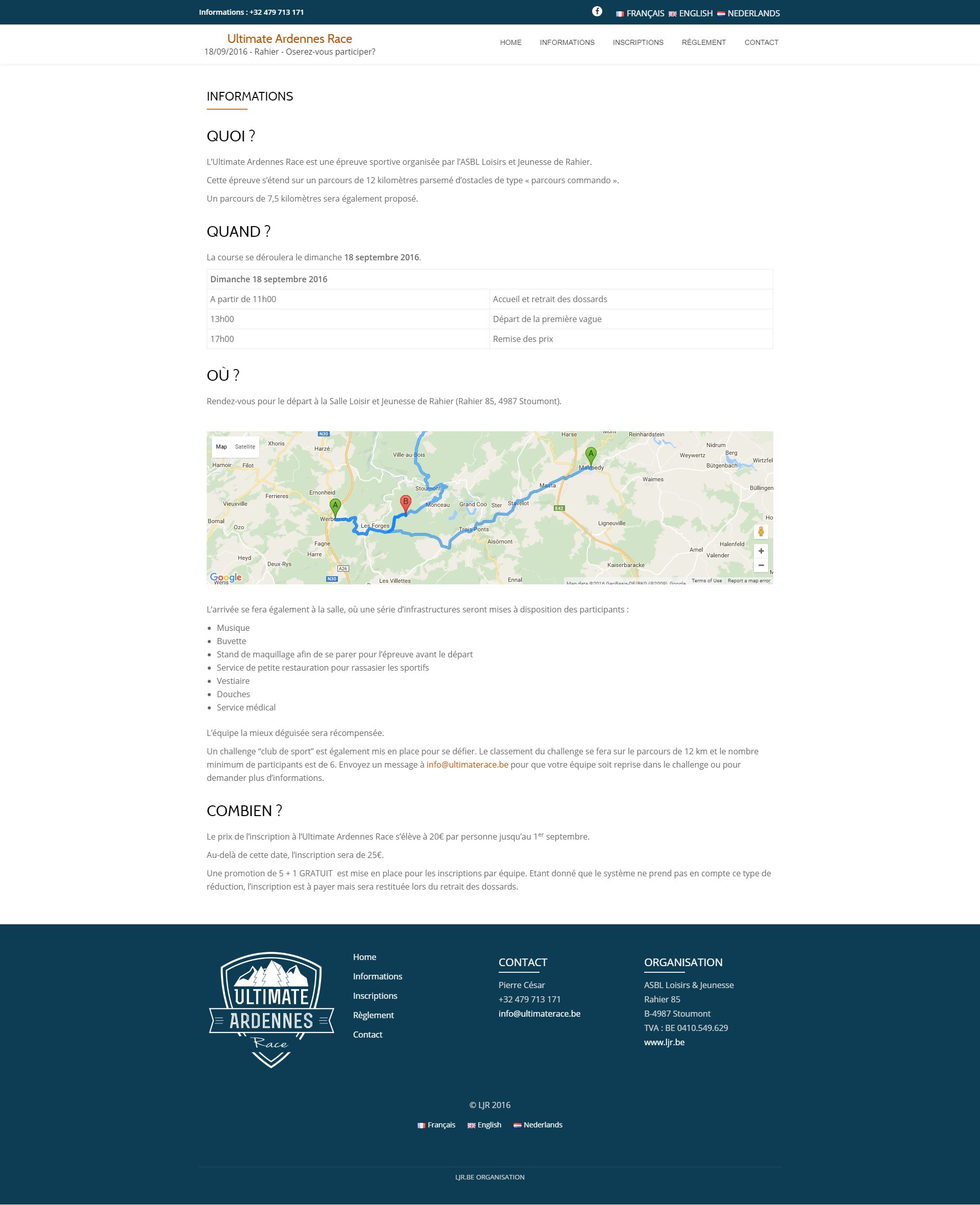 infopage